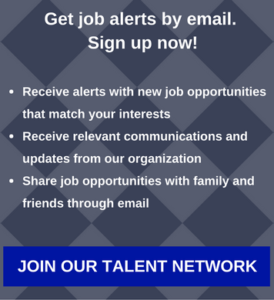 Get job alerts by email. Sign up now!